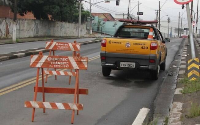 Trecho da Rua Barão de Jaguara terá bloqueio total amanhã