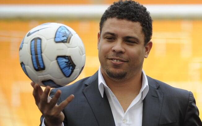 Ronaldo esteve presente no lançamento