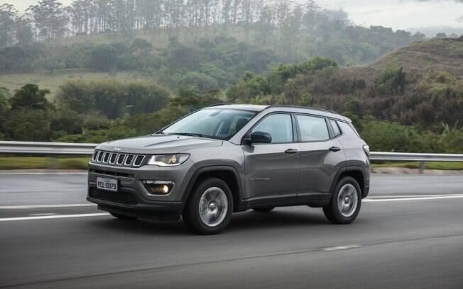 Jeep Compass é um dos veículos por assinatura do serviço Drive Select, do Energy Group