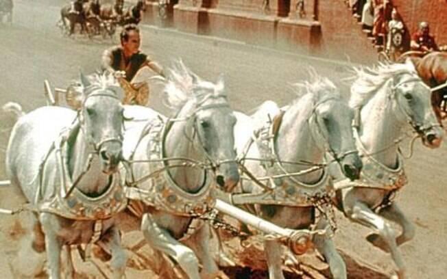 'Ben-Hur', de 1959, campeão de prêmios no Oscar até hoje; direção de William Wyler. Foto: Divulgação