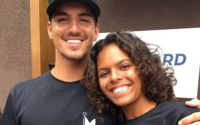 Gabriel Medina e Rafaella Teixeira