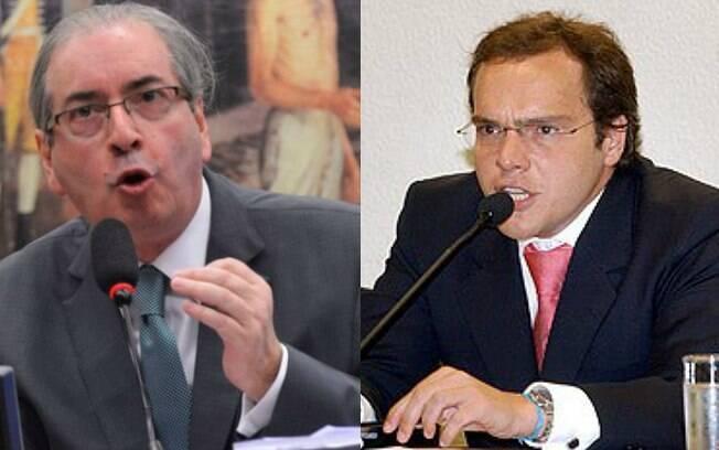 Eduardo Cunha e Lúcio Funaro: ex-deputado e doleiro atuaram juntos em esquema no FI-FGTS, segundo investigações