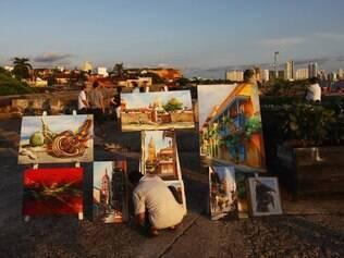Cartagena tem um cenário bucólico que encanta os turistas