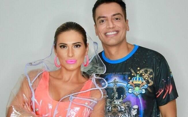 Lívia Andrade e Léo Dias