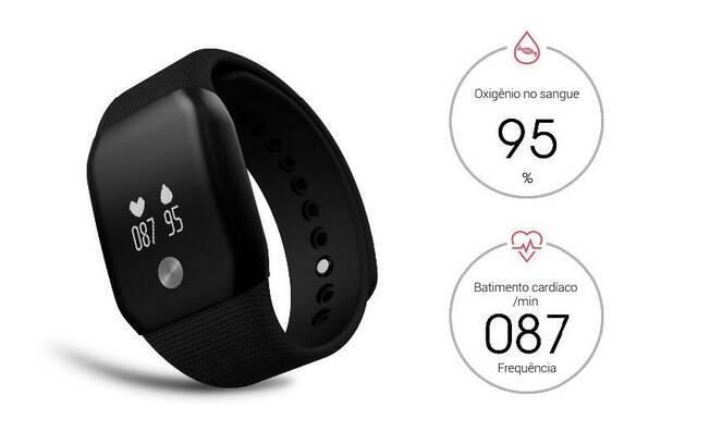 Um relógio com monitor cardíaco, como o Smartband A88+ da Squalo, é essencial para se manter uma vida saudável.