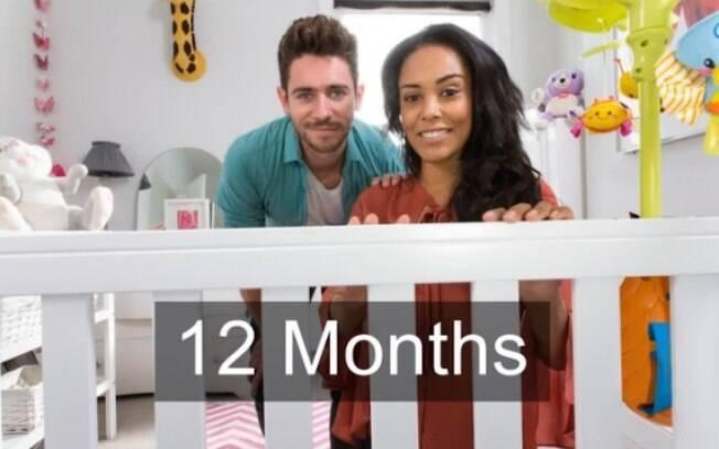 A visão do bebê já está bastante desenvolvida quando ele atinge seu primeiro ano