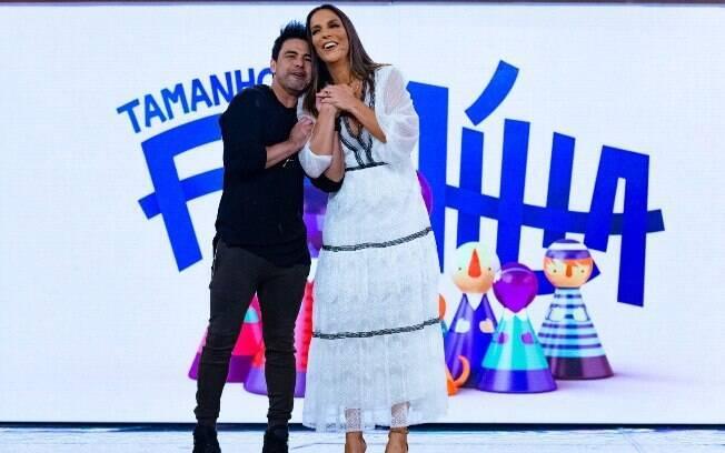 Ivete Sangalo e Zezé di Camargo participam do
