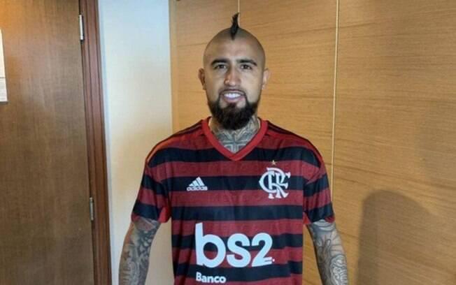 Flamengo iniciou conversas por Vidal, diz jornal