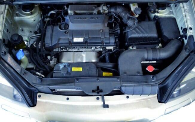Hyundai 2.0 do Tucson original não tão rende bem com etanol, entre outros fatores, pela baixa taxa de compressão