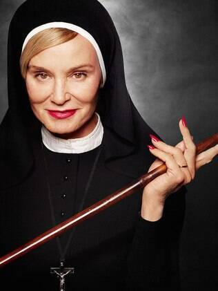 Jessica Lange em foto promocional da série