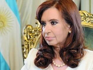 Pronunciamento. Em cadeia de rádio e TV, presidente Cristina Kirchner afirmou que não haverá calote