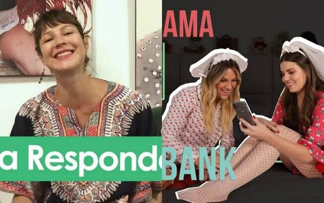Luana Piovani e Gio Ewbank fazem quase o mesmo conteúdo no YouTube