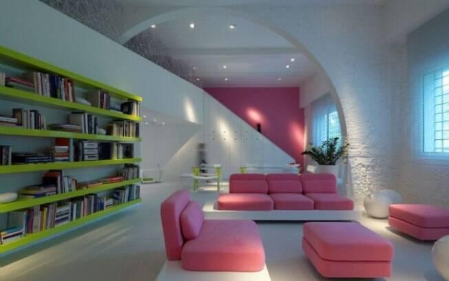 Um dos projetos mais recentes de Simone Micheli a ganhar noteriedade foi sua própria residência, em Florença