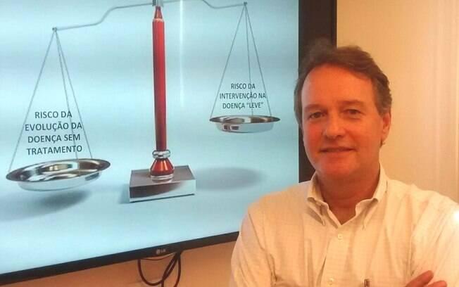 Entusiasta da campanha, André Volschan diz que muitos procedimentos têm efeitos colaterais