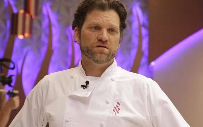 O chef Carlos Bertolazzi