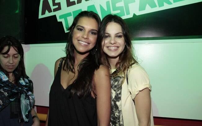 Mariana Rios e Sthefany Brito