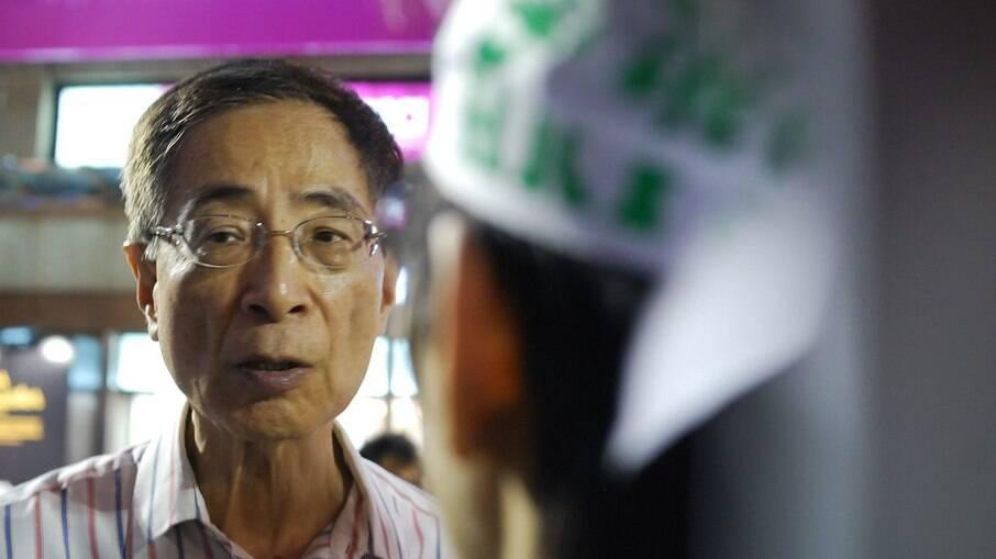 Martin Lee é advogado, político fundador do Partido Democrático e um dos detidos pela justiça de Hong Kong