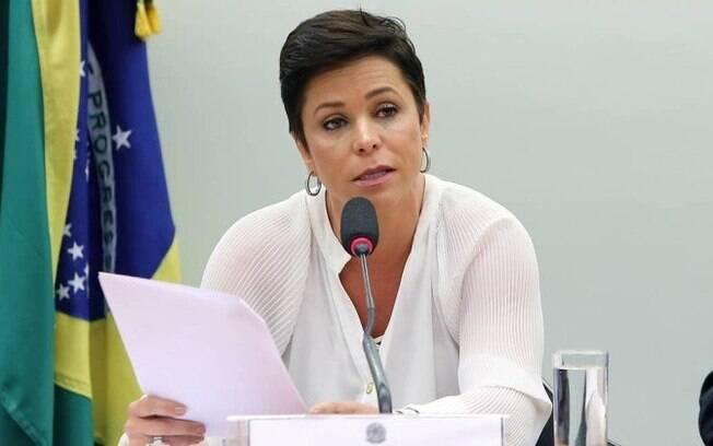 Cristiane Brasil, filha de Roberto Jefferson.