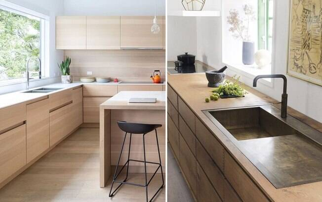 Acabamento, cor e formato das peças podem fazer com que o ambiente fique com um ar mais moderno
