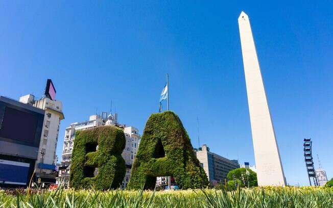 Buenos Aires, na Argentina, está convidativo aos brasileiros