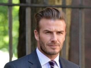 O ex-astro do futebol David Beckham tem quatro filhos com a Spice Girl Victoria Beckham