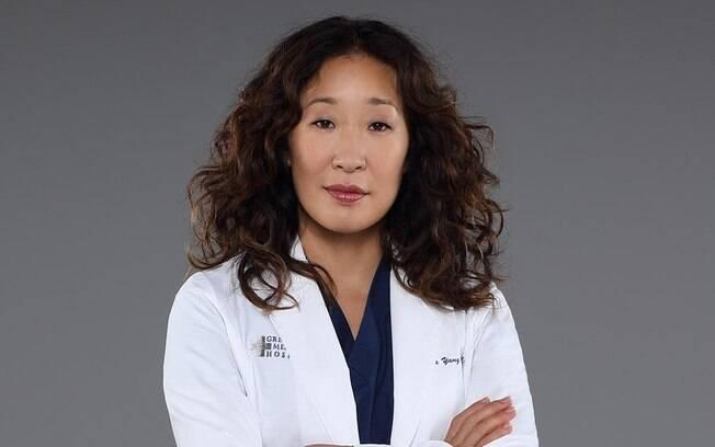 Cristina Yang, personagem de Sandra Oh em Grey's Anatomy