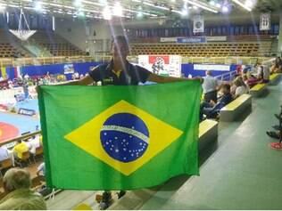 Josimara ficou orgulhosa por representar o Brasil em evento mundial