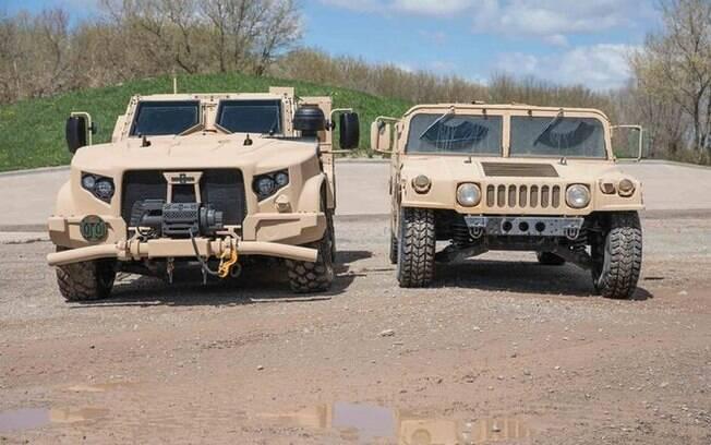 Oshkosh JLTV, com base na Chevrolet Silverado e AM General Humvee: fim de uma era entre os veículos militares nos Estados Unidos