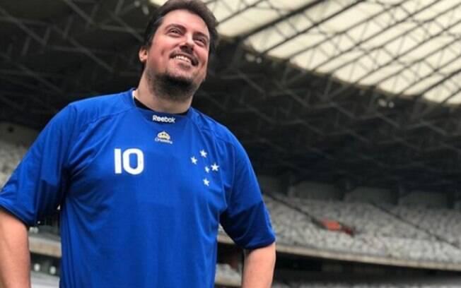 Diretoria do Cruzeiro cogitou levar humorista para animar time