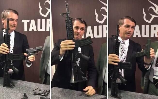 Antes do decreto sobre armas do presidente, armas como o fuzil T4 era de uso exclusivo do Exército