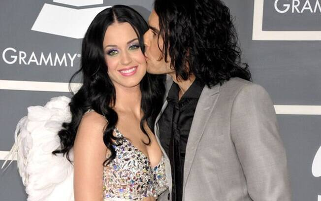 Katy Parry e Russell Brand
