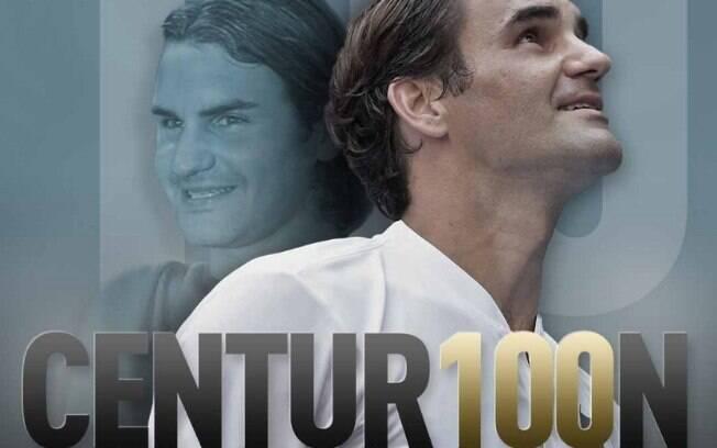 Roger Federer chegou ao 100º título de sua carreira