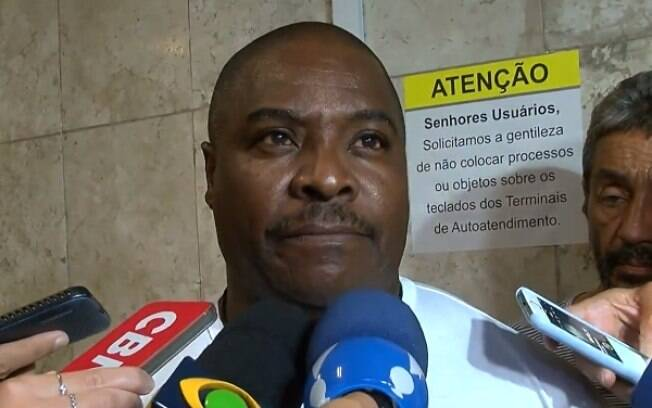 Pai do garoto Pablo, uma das vítimas do incêndio no Flamengo