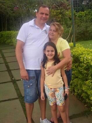 Carlos, Silvia e Sarah: toda a família é adepta da prática de MMA
