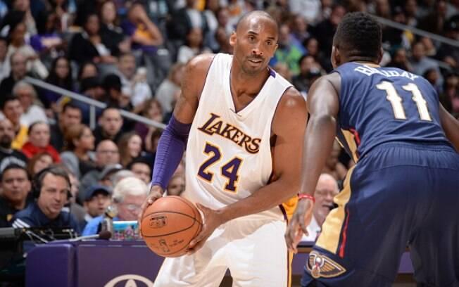 Kobe Bryant em ação pelo Lakers