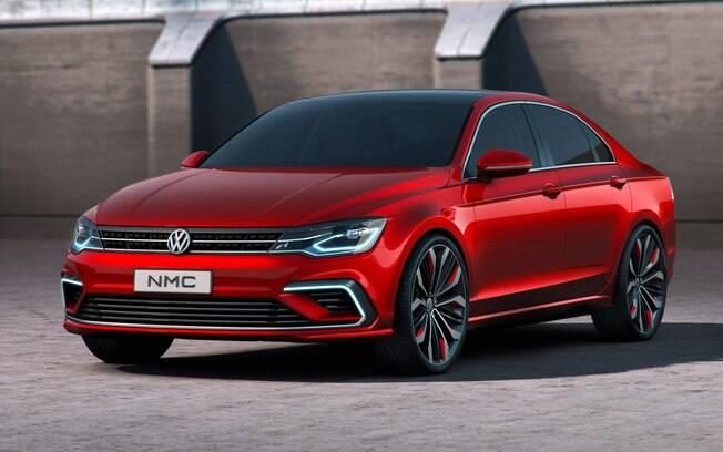 Volkswagen NMC é um protótipo que serviu de inspiração para o sedã Arteon e vai servir de base para o novo VW Jetta