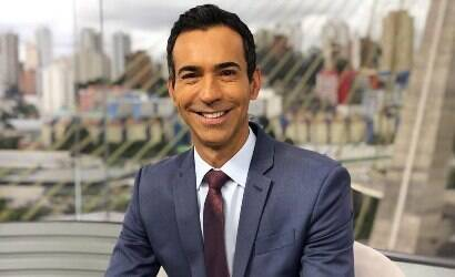 """César Tralli está de saída do """"SPTV"""" após 10 anos"""
