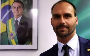 Defesa de Eduardo Bolsonaro diz que Judiciário não pode interferir em nomeação