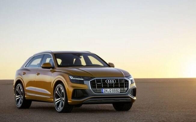 Audi Q8 trará seu tamanho e imponência para o Salão do Automóvel. Mas também há chances do Audi Q3 aparecer