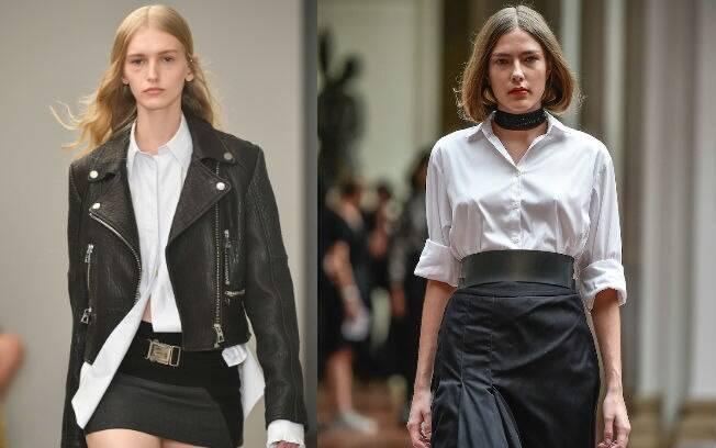 Seja em modelos mais larguinhos e masculinos ou mais acinturados e femininos, a camisa nunca sai da moda