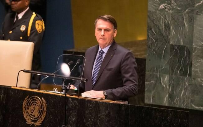 Brasil é a palavra mais utilizada por Bolsonaro em seu discurso, mas indígena também se destaca