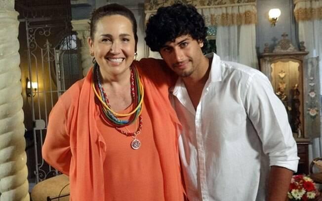 Jesus Luz e Cláudia Jimenez se conheceram em balada e tornaram-se amigos íntimos