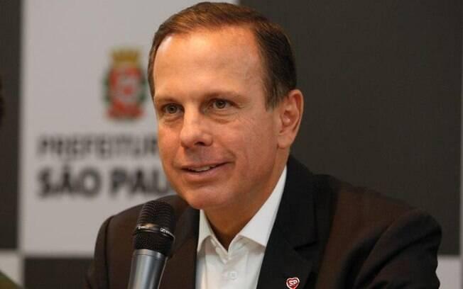 Governador João Doria (PSDB-SP)