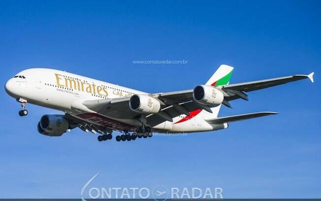 Emirates aposenta de sua frota o primeiro Airbus A380