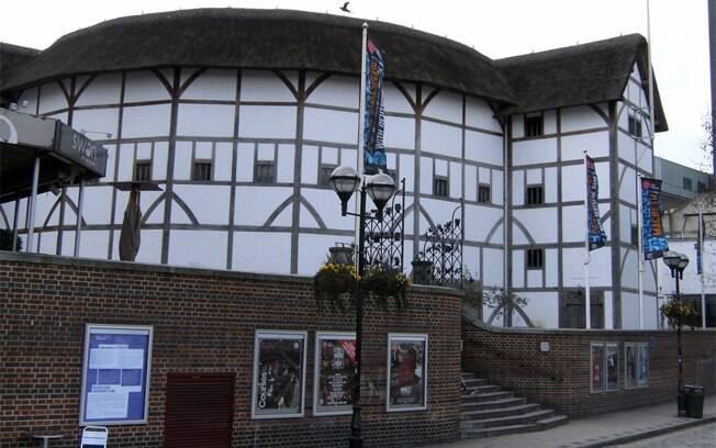 Shakespeare's Globe: reconstrução do antigo teatro onde o dramaturgo inglês encenava suas peças