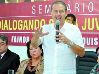Ataques. Ex-aliado do governo federal, Campos disse que Dilma não deu conta de melhorar o país