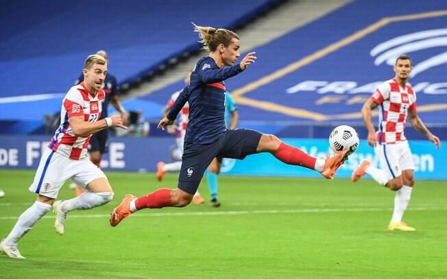 França supera Croácia pela Liga das Nações