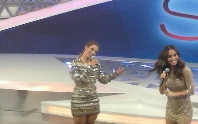 Valesca Popozuda com Sabrina Sato