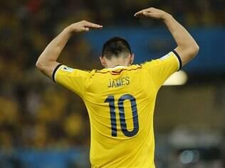 James Rodríguez garantiu a vitória da Colômbia ao marcar um golaço
