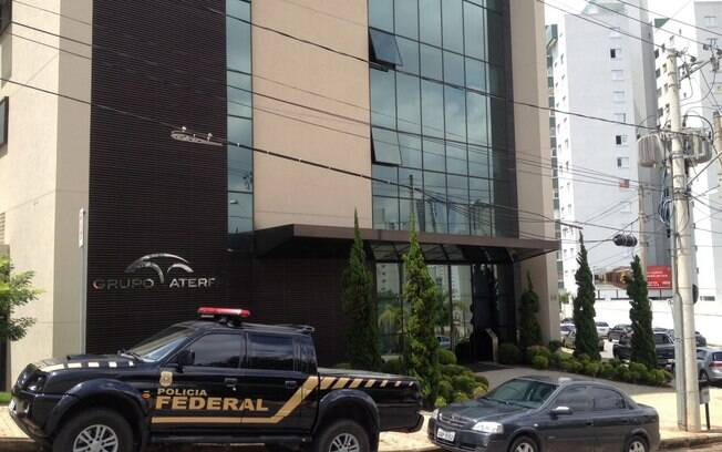 Fachada da Aterpa Engenharia, localizada no bairro Estoril, em Belo Horizonte (MG)